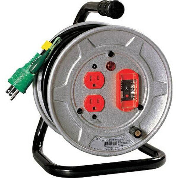 電工ドラム 標準型100Vドラム アース過負荷漏電しゃ断器付 10m NSEK12 日動工業