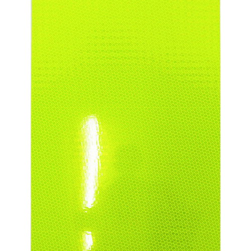 【通販激安】 高輝度マイクロプリズム型反射シート W6513 蛍光イエローグリーン 品番:6300004150 [TR-2126 グリーンクロス, ニシキチョウ 4a2740bc