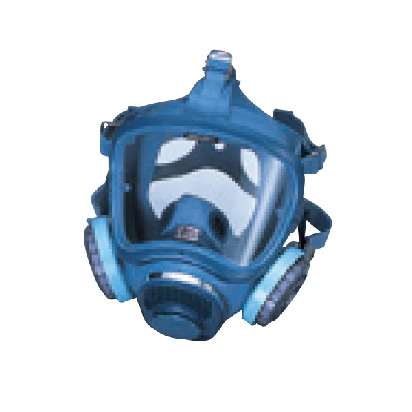 全面形防じんマスク(石綿作業レベル1~3用) 伝声器付 3333