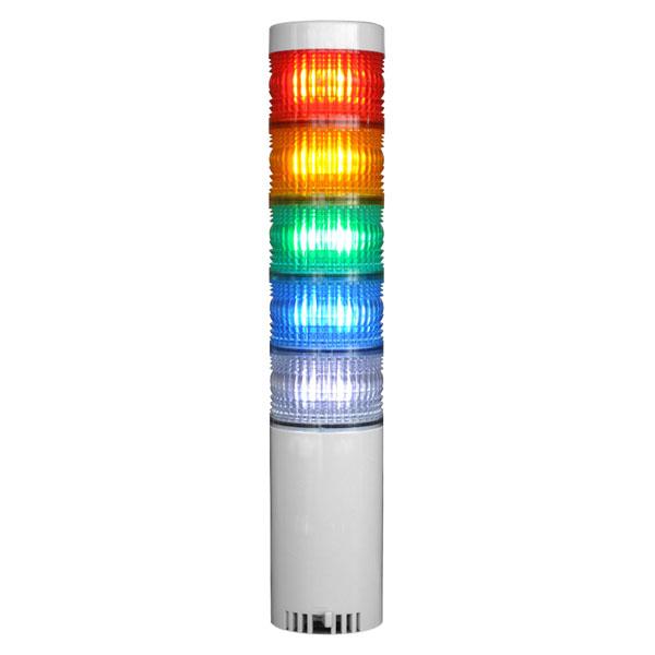【超歓迎された】 LED積層灯 ニコタワー66 単色発光 屋内仕様 直付け 5段 VT06C型 日恵製作所(NIKKEI) VT06C-024K5, 美里村 17d45f50