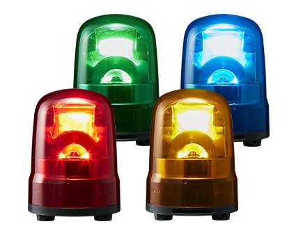 パトライト 送料無料激安祭 ブラシレスモータ回転灯 SKS-M2緑 φ80 大注目