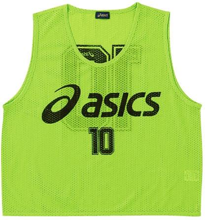 asics (アシックス) ビプス(10枚セット) XSG060 81 1610 メンズ レディース サッカー フットサル アクセサリー ビブス