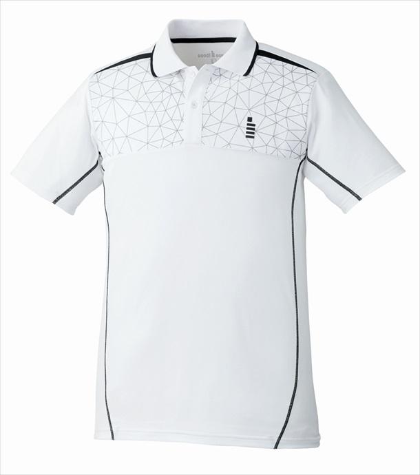 GOSEN (ゴーセン) ゲームシャツ T1720 30 1712 メンズ 紳士 男性 テニス バドミントン ウェア