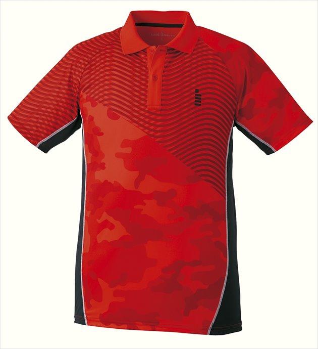 GOSEN (ゴーセン) ゲームシャツ T1728 27 1712 メンズ 紳士 男性 テニス バドミントン ウェア