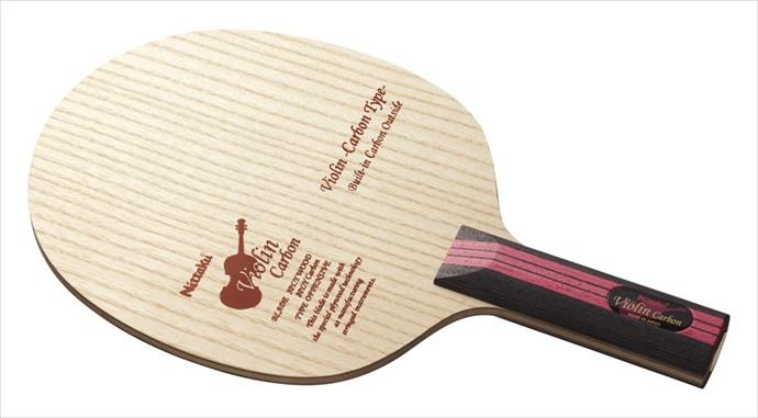 全品ポイント4倍!《送料無料》Nittaku (ニッタク) 日本卓球 バイオリンカーボン ST NC-0431 1801 卓球 ラケット