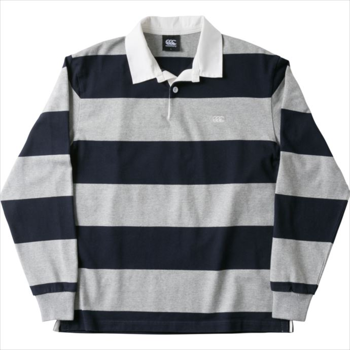 CANTERBURY (カンタベリー) 4INCH STRIPE RUGBY JERSEY 29 RA48561 1810 メンズ ラグビー ウェア
