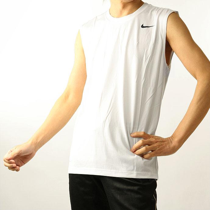 ■NIKEのノースリーブシャツ クルーネック 丸首 ノースリーブシャツ ナイキ NIKE メンズ 718836 ドライフィット ノースリーブ 2102 トップス インナー 肌着 Tシャツ タンクトップ おすすめ特集 即日出荷 ネコポス対応 レジェンドスリーブレスTシャツ