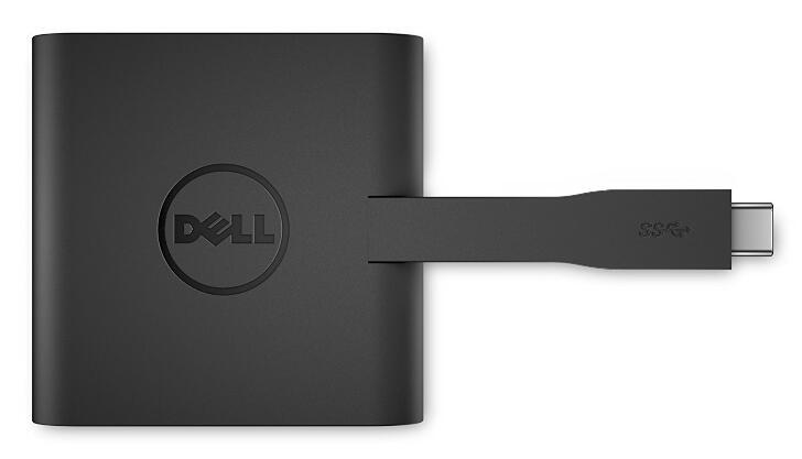 Dell ノートPC用端子拡張アダプタ USB3.0 TypeC 接続 期間限定 DA200 おしゃれ LAN HDMI VGA