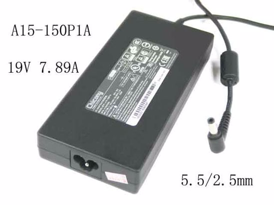 丸型 大決算セール 外径約5.5mmФ 内径2.5mmФ 純正新品 Chicony A15-150P1A 電源アダプタ ACアダプター 19.5V 7.89A A150A010L 国内送料無料