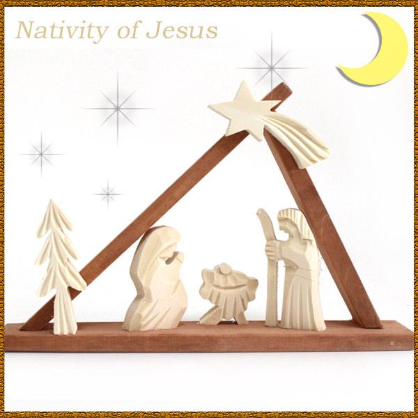 christmas decorations ornaments christs birth set poland hand carved christmas ornaments jesus nativity - Jesus Christmas Decorations