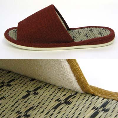 花goza 拖鞋是草榻榻米垫大小可水洗拖鞋