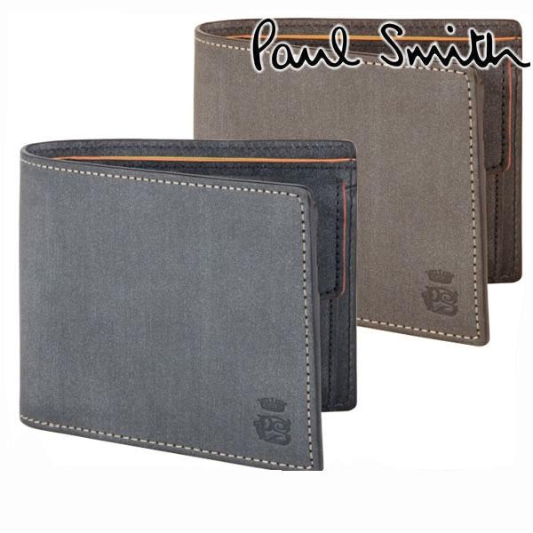49c40e7a4d0b 送料無料ポールスミスPAULSMITHメンズポール・スミス二つ折り財布ロウコレクションブランド554839J160