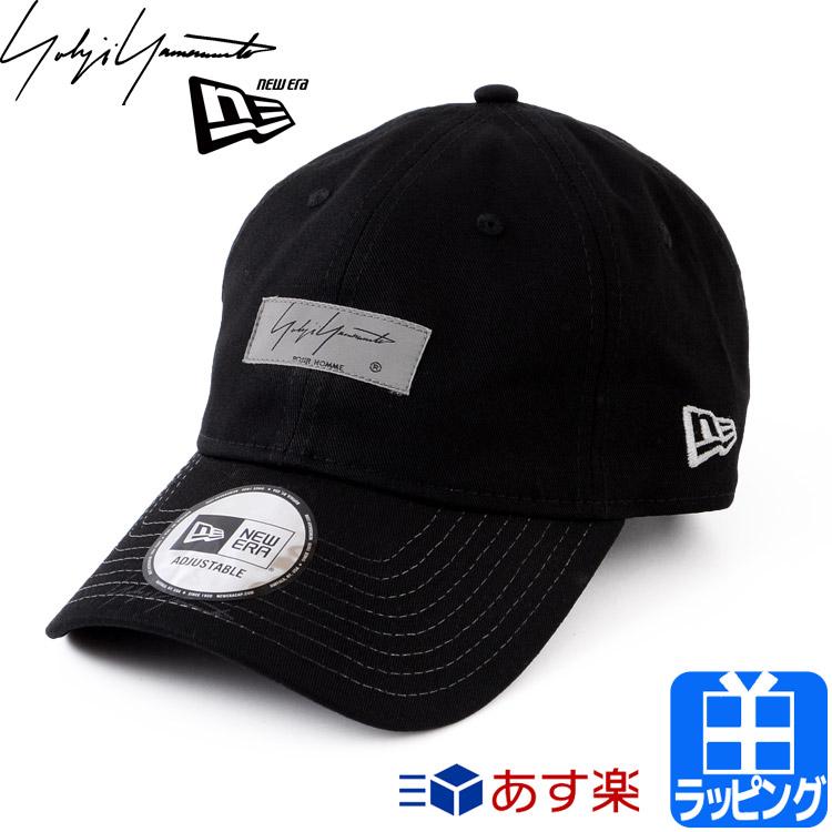 ヨウジヤマモト ニューエラ キャップ 帽子 SS19 LABEL 【Yohji yamamoto NEW ERA メンズ レディース ブランド おしゃれ かわいい 送料無料 正規品 新品 2019年 ギフト プレゼント】 HH-H60950 [S]