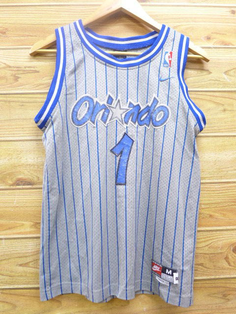 sale retailer 71faa 706b7 Summer clothes | in the spring and summer old clothes tank top Nike NIKE  NBA Orlando Magic Tracy mug lady gray other uniforms medium size men for ...