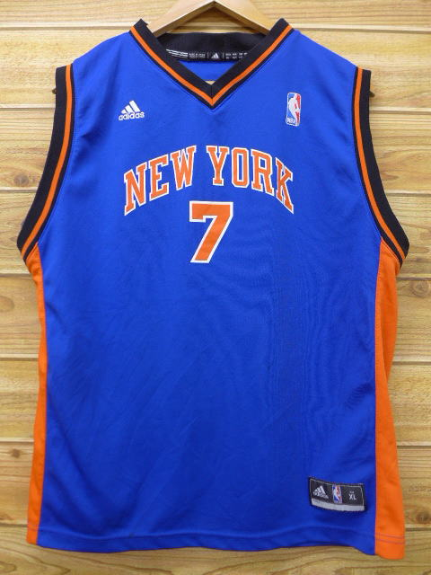 ac877809d152b RUSHOUT  Old clothes tank top Adidas adidas NBA New York Knicks 7 ...