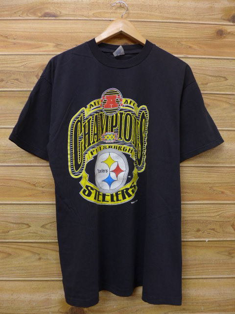 60b883660 RUSHOUT  Old clothes vintage T-shirt Super Bowl NFL Pittsburgh ...