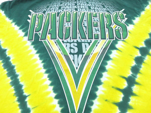 829f38d0 古着屋RUSHOUT ビンテージメンズレディース古着通販 [product number] ts18042346 [brand name] XL ☆ old  clothes T-shirt NFL Green Bay Packers ...