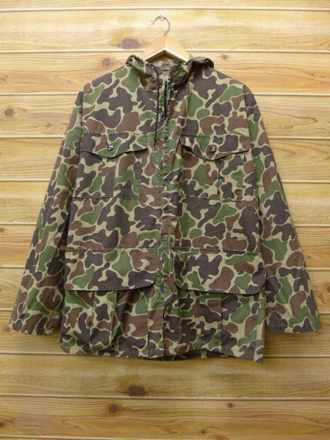 0bee493e96d24 RUSHOUT: Old clothes hunting jacket parka camouflage large size used ...