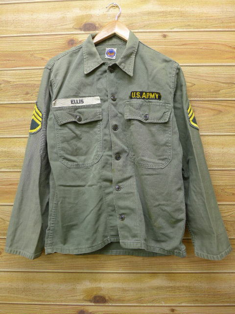 RUSHOUT  Old clothes vintage military jacket US army utility green ... 569a62ad444