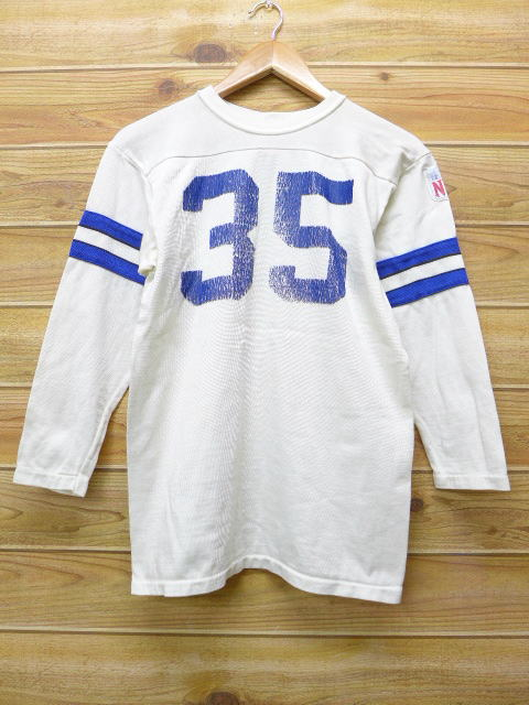 8d601473 Old clothes vintage football T-shirt Sears NFL white white American  football Super Bowl small size used men