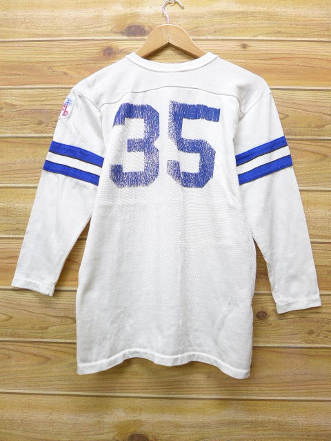31fec5b63 Old clothes vintage football T-shirt Sears NFL white white American  football Super Bowl small size used men