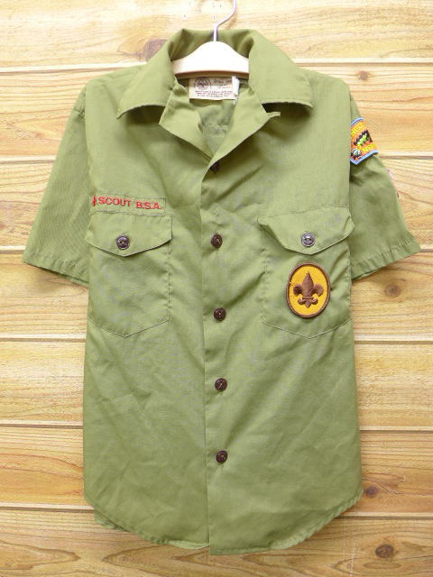 ae7ddb0f6a3c RUSHOUT  Old clothes kids children s clothes short sleeves Boy Scout ...
