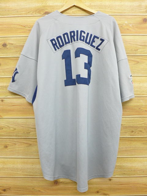5b0d5b80851 Old clothes short sleeves baseball shirt Nike NIKE MLB New York Yankees  Alex Rodrigues big size ...