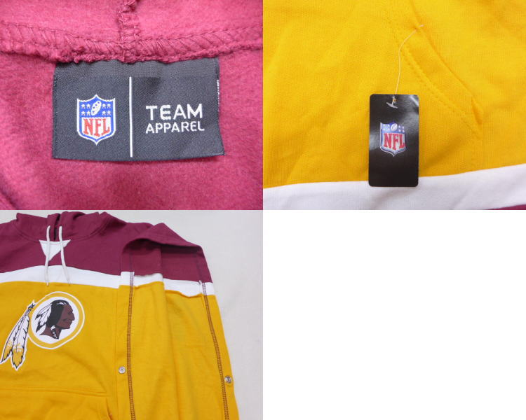 Discount RUSHOUT: Old clothes short sleeves tops parka NFL Washington