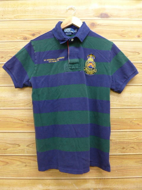 RUSHOUT  Old clothes short sleeves rugby shirt Ralph Lauren Ralph ... c9e42137f