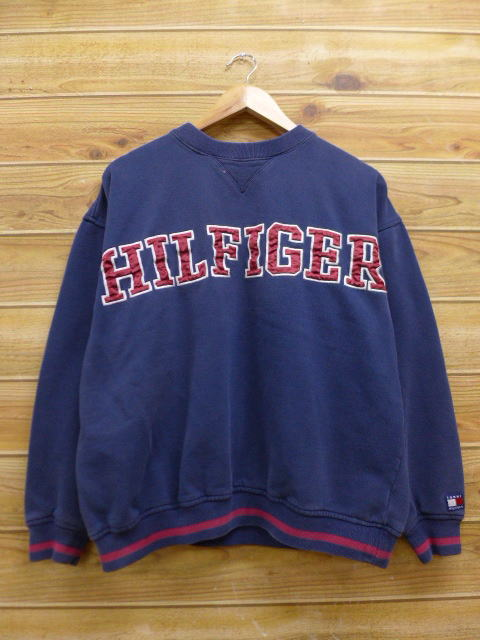 297fef9d RUSHOUT: Old clothes スウェットトミーヒルフィガー TOMMY HILFIGER big ...
