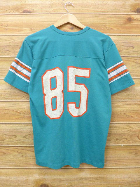 d1d49933 RUSHOUT: Old clothes vintage football T-shirt Rawlings NFL Miami ...