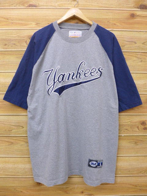 0cdf74789d97e5 Old clothes T-shirt MLB New York Yankees Orlando Hel naan death big size  gray ...