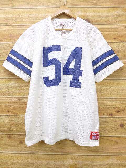 7b76635e RUSHOUT: Old clothes vintage football T-shirt Rawlings NFL big size ...