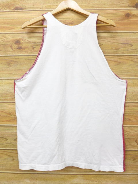 1ac91c36c8341d RUSHOUT  Old clothes vintage tank top Budweiser beer red red XL size ...