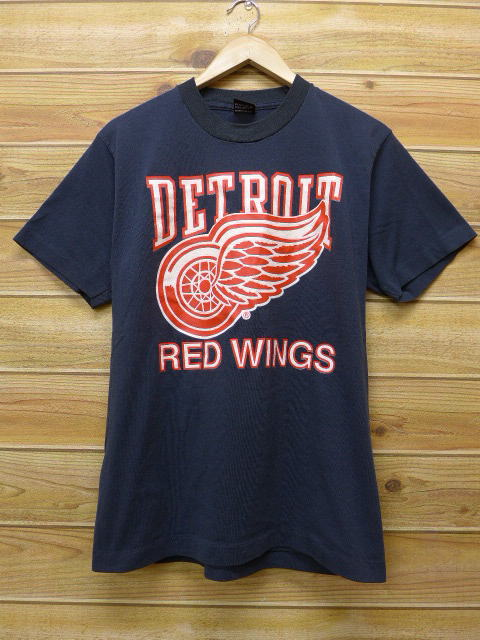 Rushout Old Clothes Vintage T Shirt Nhl Detroit Red Wings 24 Black