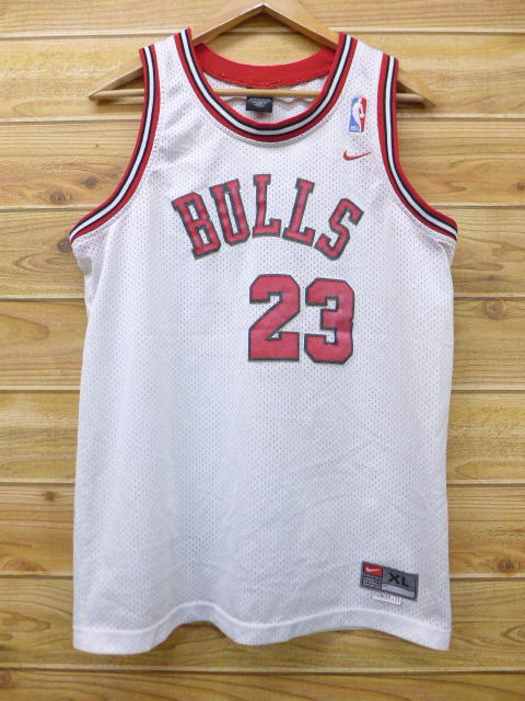 32e1e57b2cf427 RUSHOUT  Old clothes tank top Nike NIKE NBA Michael Jordan white ...