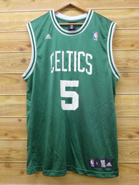 competitive price fc069 1bfee Old clothes tank top Adidas adidas Boston Celtics Kevin Garnett green green  uniform basketball XL size used men