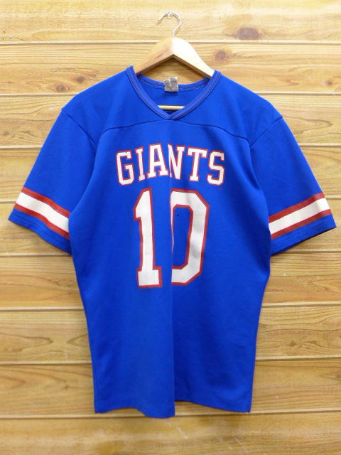 ... coupon code for old clothes vintage football t shirt rawlings nfl new  york giants 10 blue 55115c971