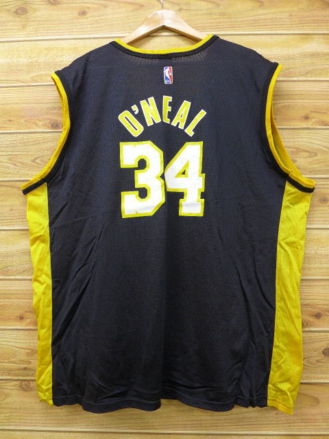online store accf4 abd77 Old clothes vintage tank top champion Champion NBA Los Angeles Lakers  Shaquille O'Neal big size black black uniform XL size used men