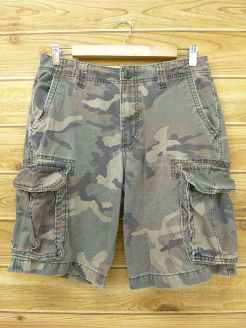 store cozy fresh exclusive range Old clothes short cargo pant old navy OLD NAVY camouflage W33 used men  bottoms shorts show bread