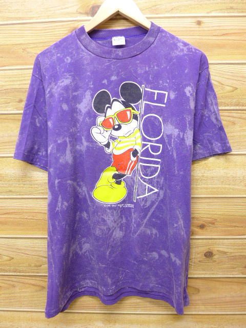 bb6a431b010 RUSHOUT  Old clothes vintage T-shirt Disney DISNEY Mickey MICKEY ...