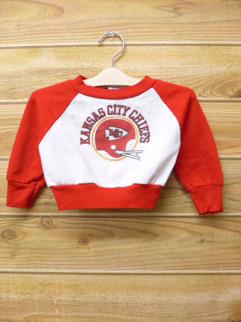 factory authentic 2002a 67d83 Old clothes kids children's clothes sweat shirt NFL Kansas City Chiefs red  red American football Super Bowl
