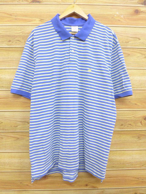edf7c88a Old clothes polo shirt Brooks Brothers BROOKS BROTHERS logo big size dark  blue other navies horizontal ...