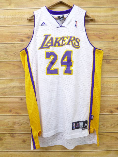 finest selection 8ea8c cf020 Old clothes tank top Adidas adidas Los Angeles Lakers Kobe Bryant big size  white other white uniform XL size used men