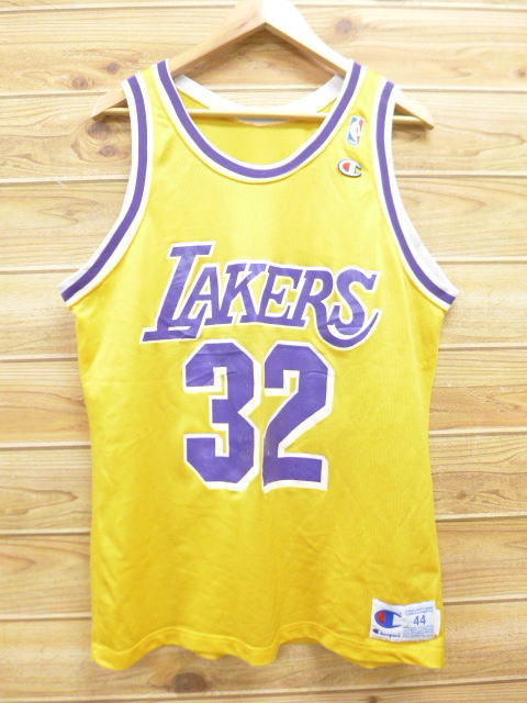 48fcda473925 RUSHOUT  Old clothes tank top champion Champion NBA Los Angeles ...
