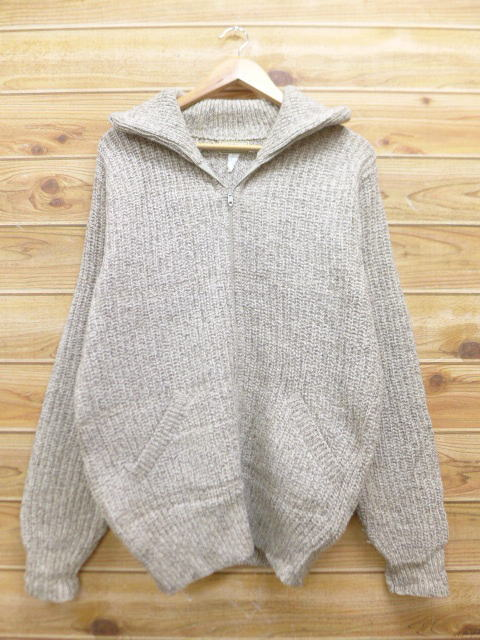 98673a4dcf7f RUSHOUT: Old clothes knit cardigan L. L. Bean LLBEAN ウールタロン ...