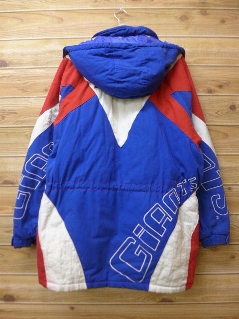 competitive price 74a1a fc0c4 Old clothes jacket parka NFL New York Giants long length blue others blue  American football Super Bowl large size men | Autumn clothes winter  clothing ...