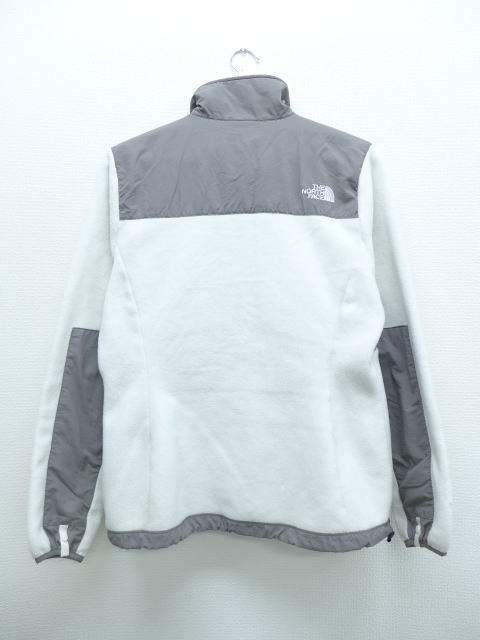 5c2531786 Old clothes Lady's fleece jacket North Face THE NORTH FACE white other  white used outer jacket blouson
