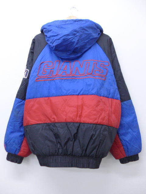 official photos 94d71 6a929 Old clothes nylon jacket parka NFL New York Giants blue blue American  football Super Bowl XL size men | Autumn clothes outer windbreaker in the  fall ...