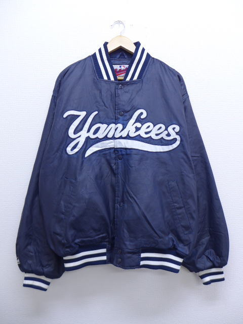 d6e19e23a52 RUSHOUT  Old clothes nylon jacket majestic MLB New York Yankees dark ...
